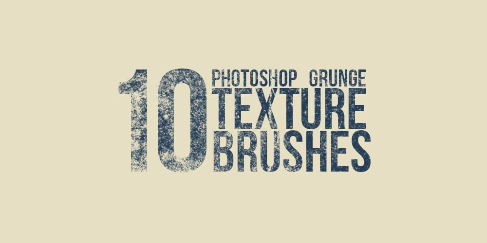 Grunge Texture Brushes For Photoshop