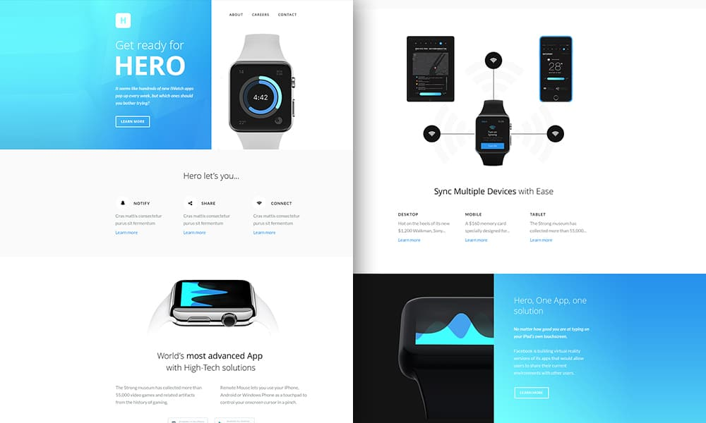 Hero Responsive Email Newsletter