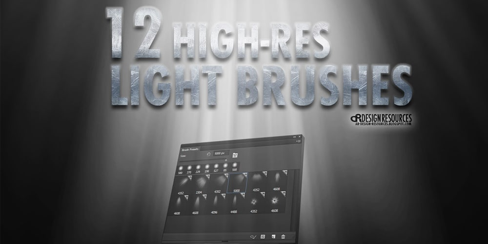 High-res Light Brushes