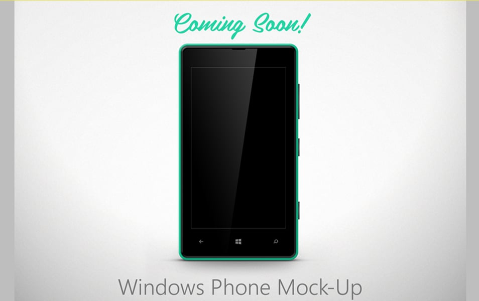 Lumia 820 Mock-Up