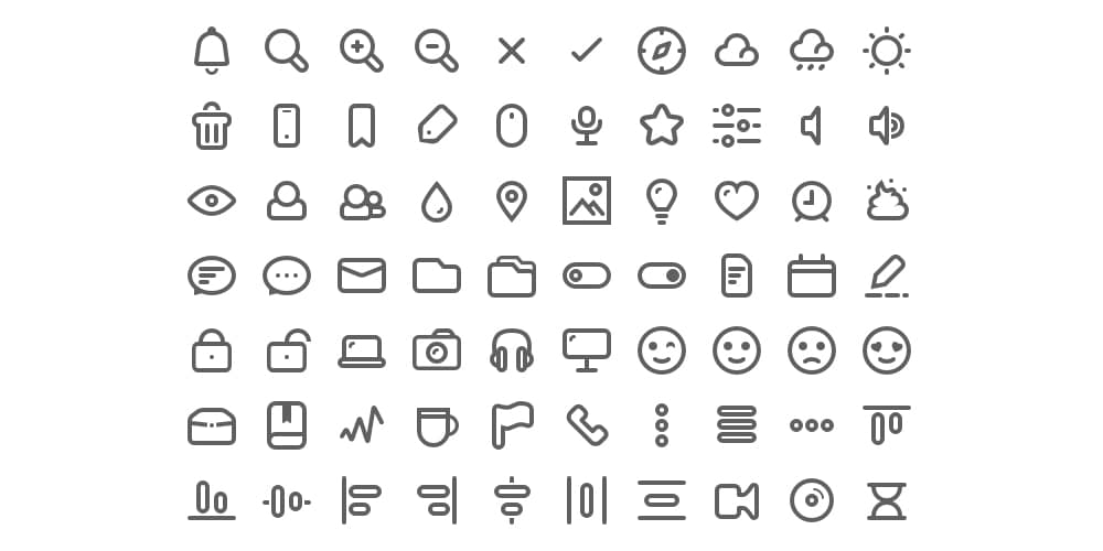 Latest Collection Of Free Svg Icons Css Author