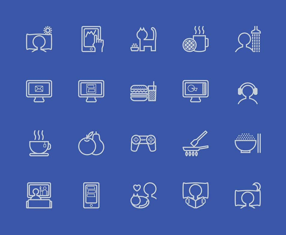 One Day - Free Icon Set