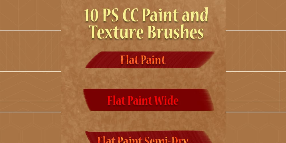 Paint and Texture Brushes