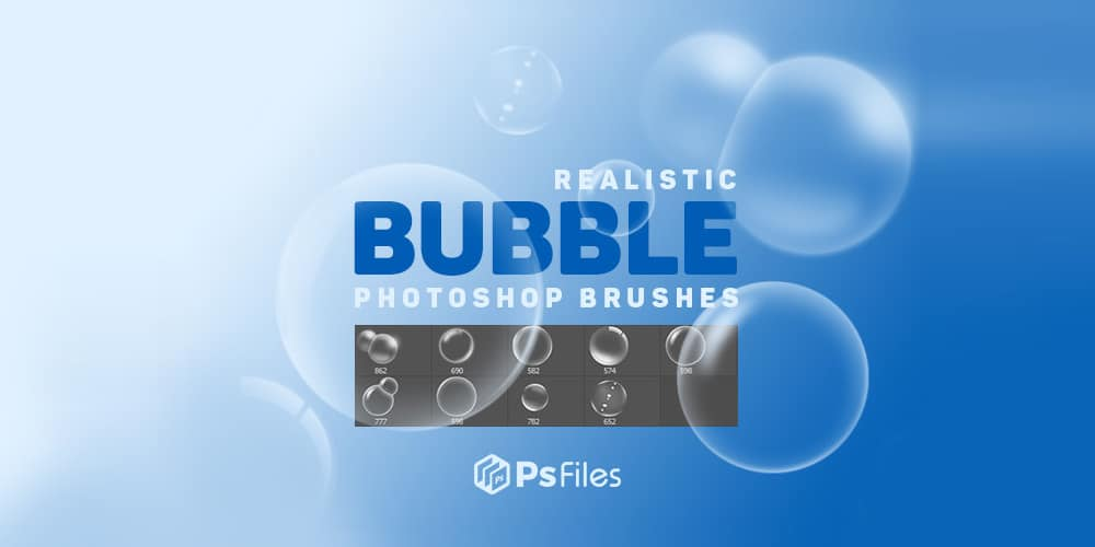 Realistic Bubble Brushes