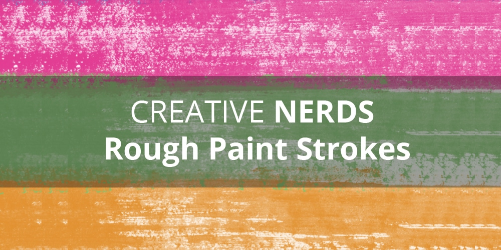 Rough Paint Strokes smudges Photoshop Brushes