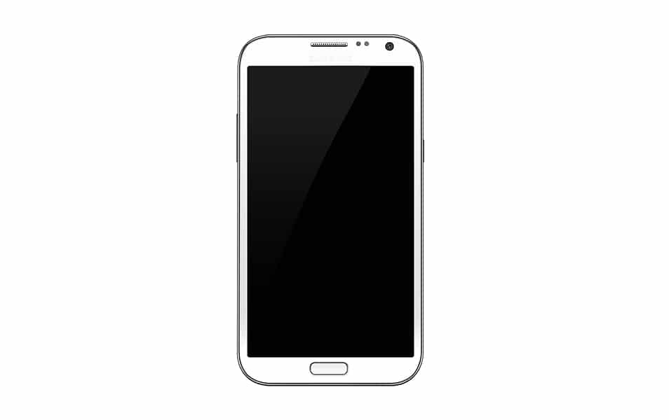 Samsung Galaxy Note II psd