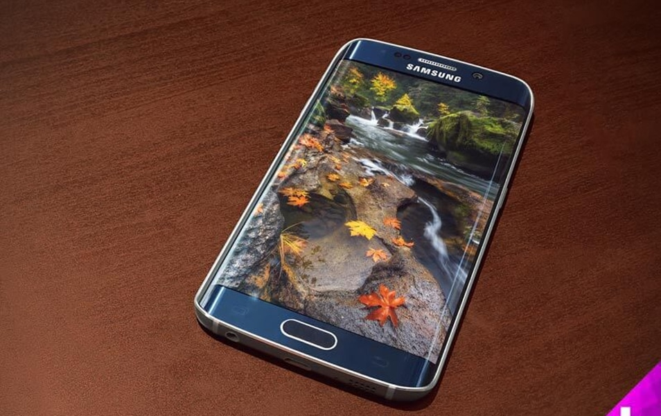 Samsung Galaxy S6 Edge Blue