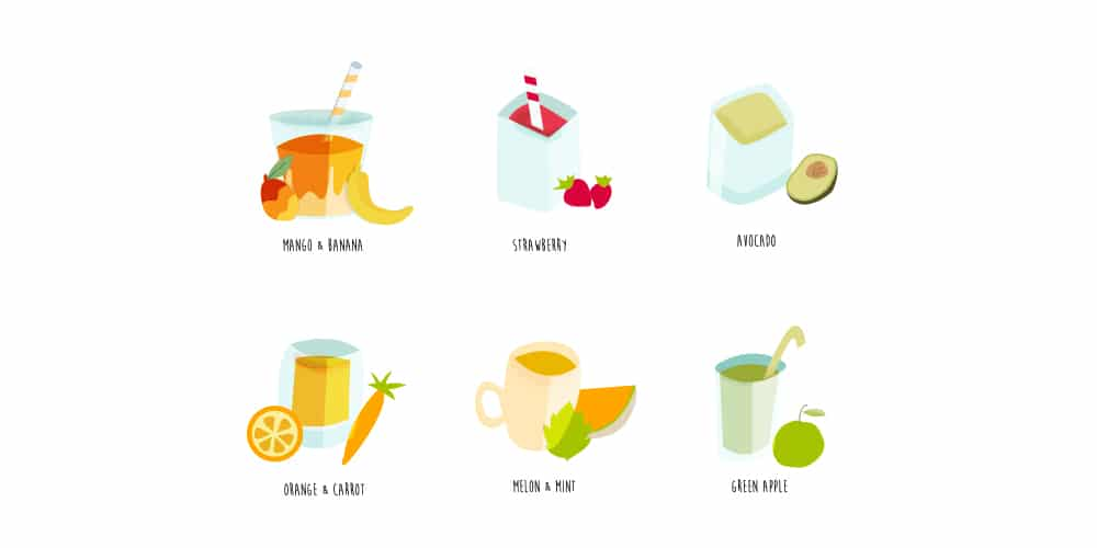 Smoothies Icons
