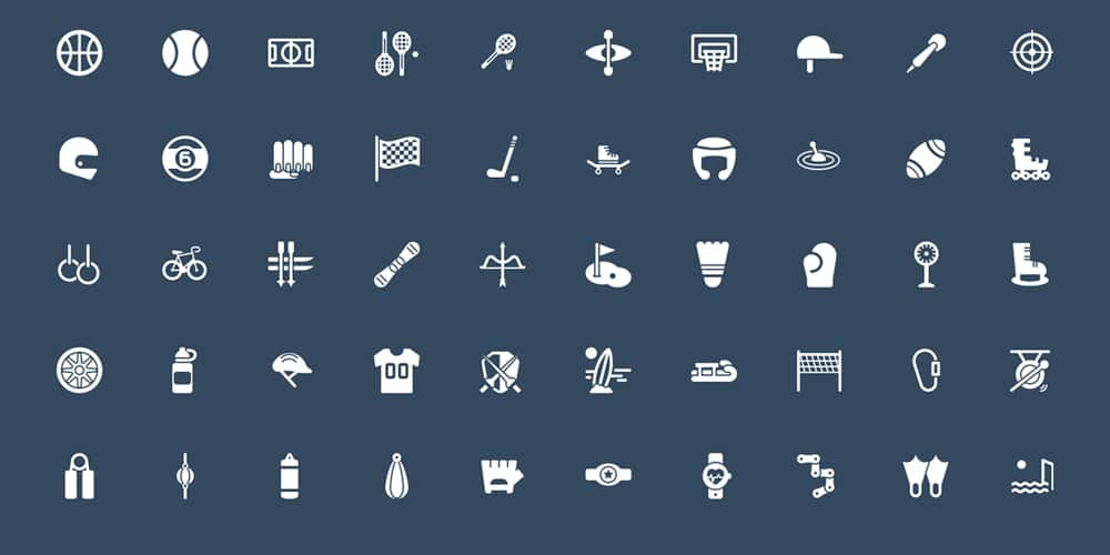 Squid Ink Solid Icons