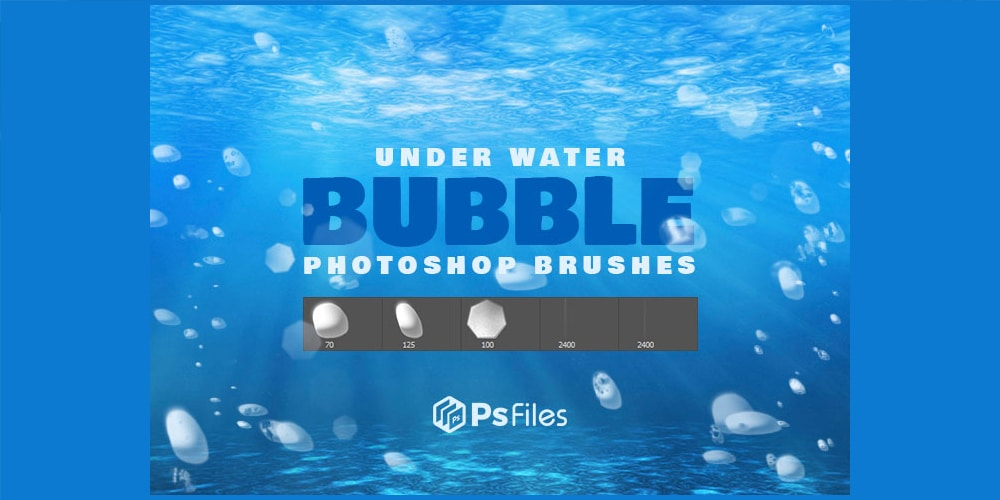 Under Water Bubble Brushes