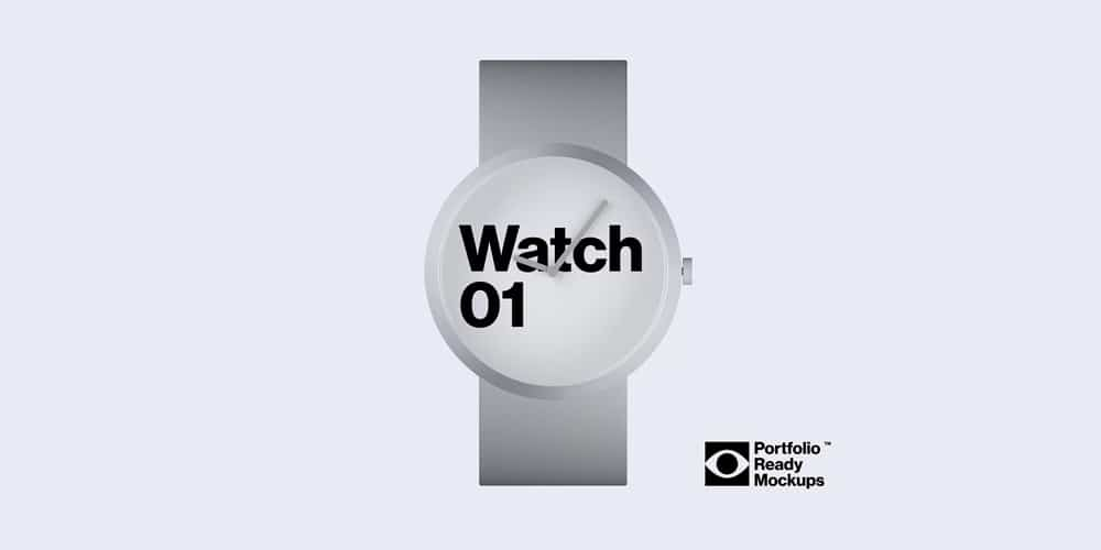 photorealistic watch mockup