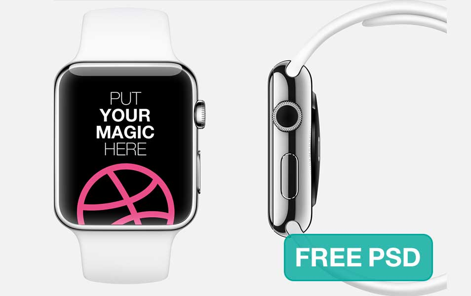 Apple Watch Free Mockup Template