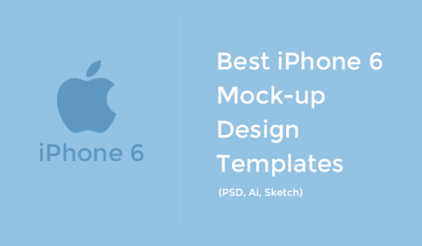 Best iPhone 6 Mockup Design Templates