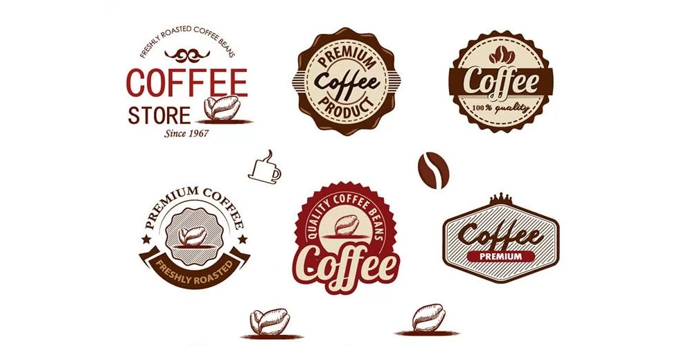Free Coffee Badges