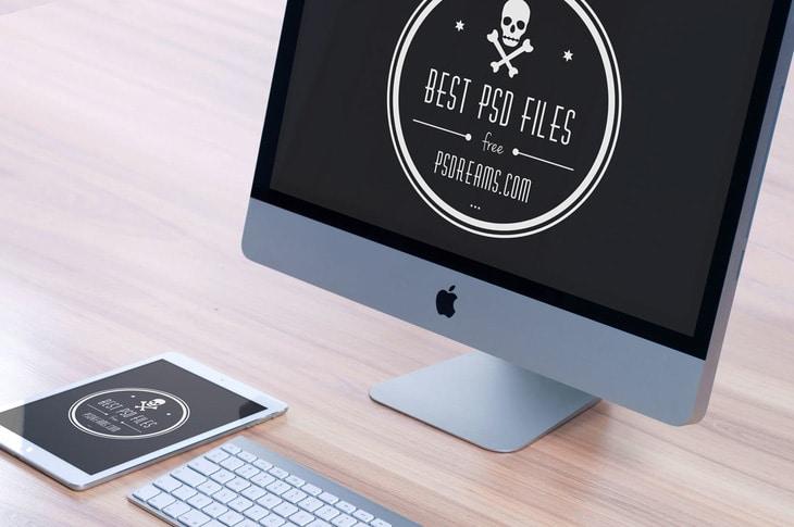 Free Workspace Mockup Design Templates | Motion Bucket