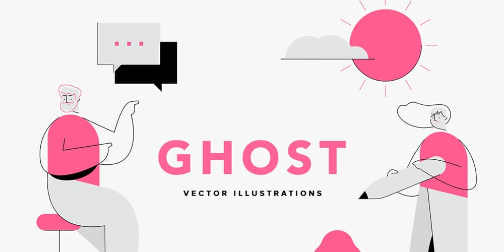 Ghost-Vector-Illustrations