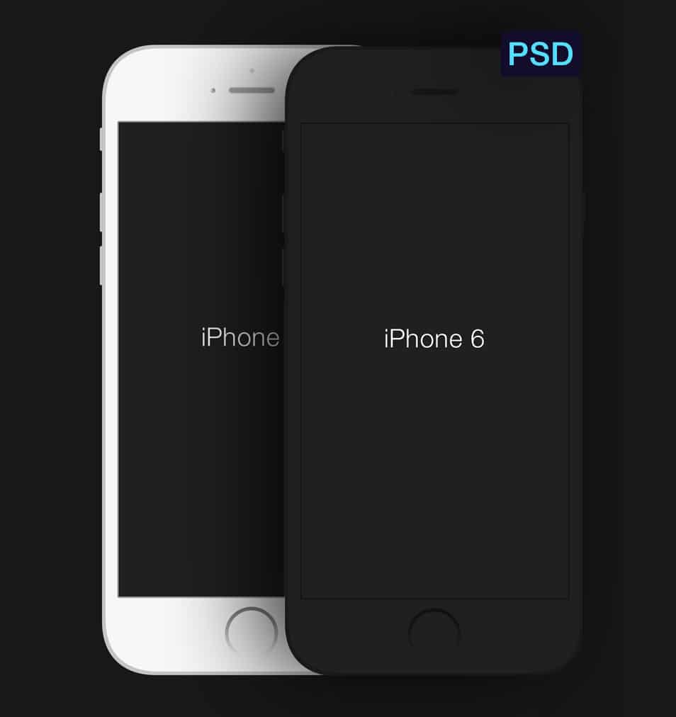 iPhone 6 Minimal PSD