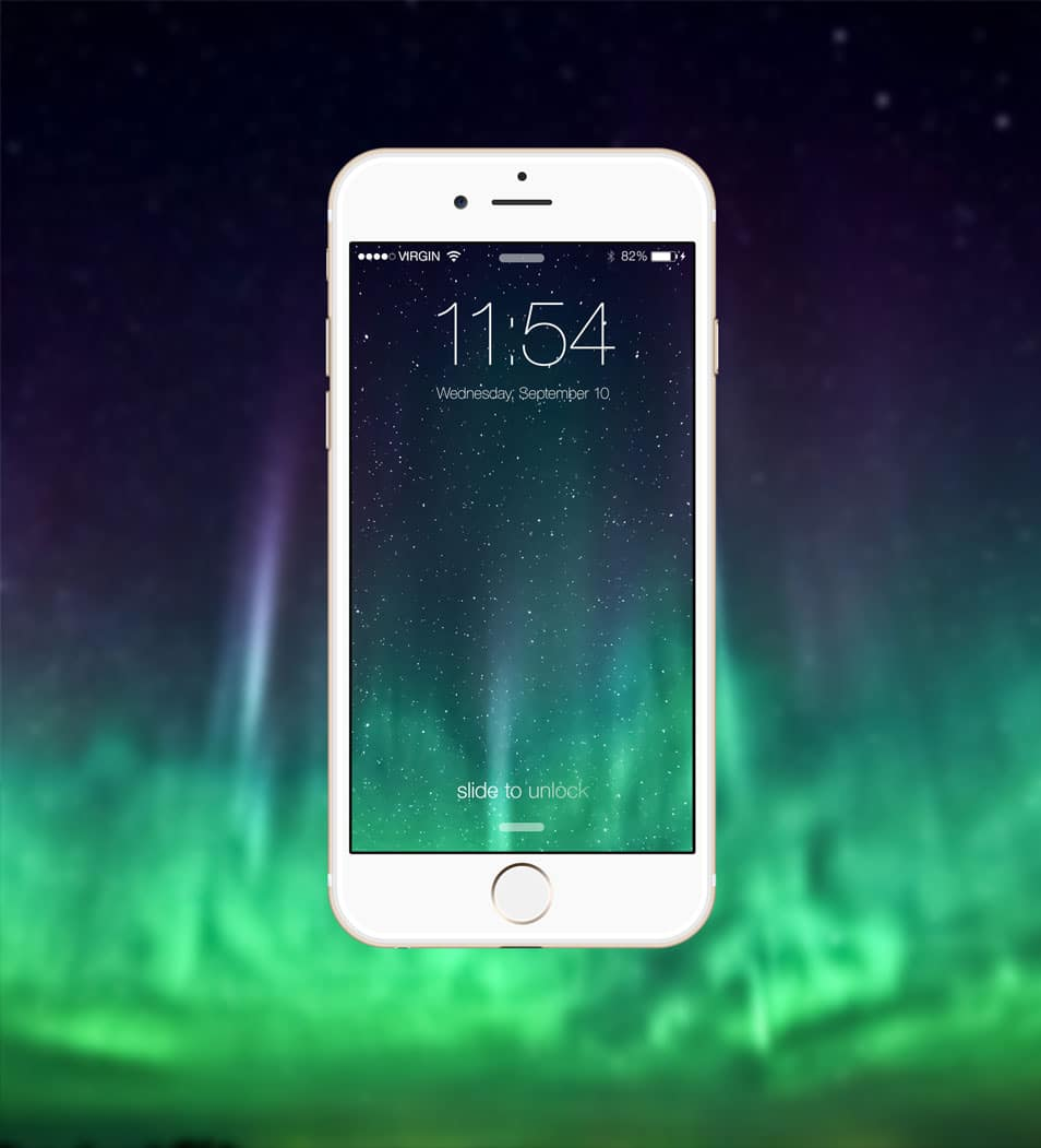 iPhone 6 Mockup template