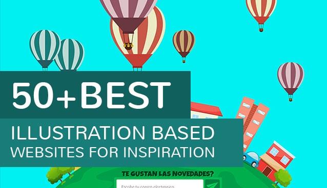 50 Best Illustration Based Websites For Inspiration