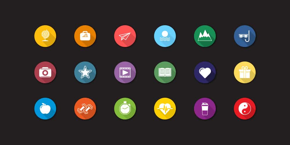 Free Flat Icons Vector