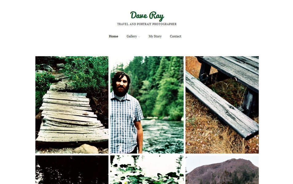 Make Free Photography WordPress Theme