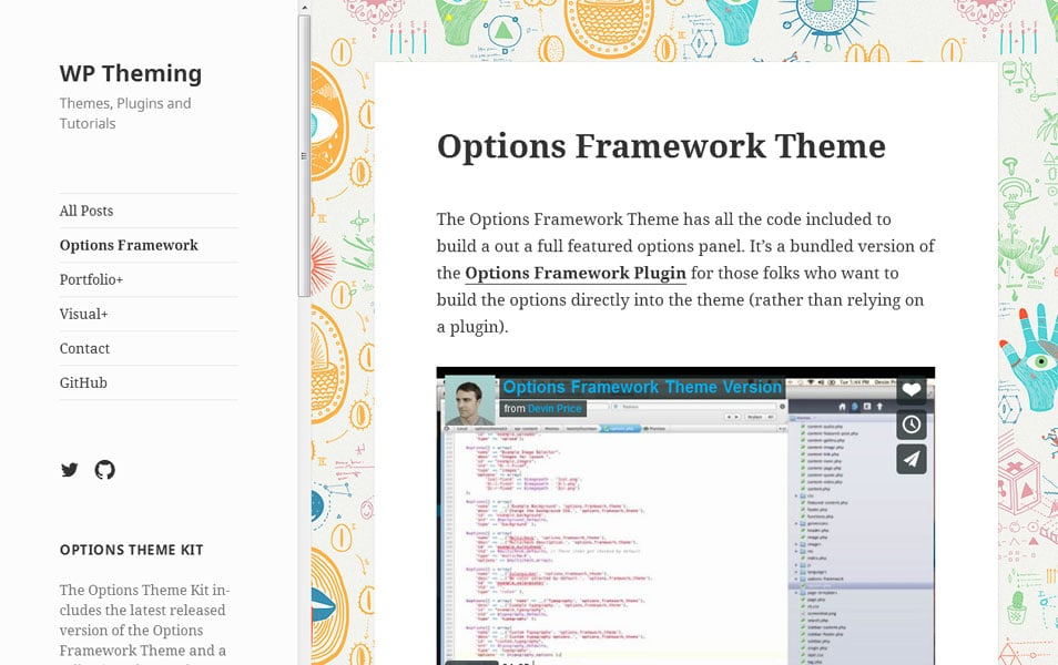 Options Framework Theme