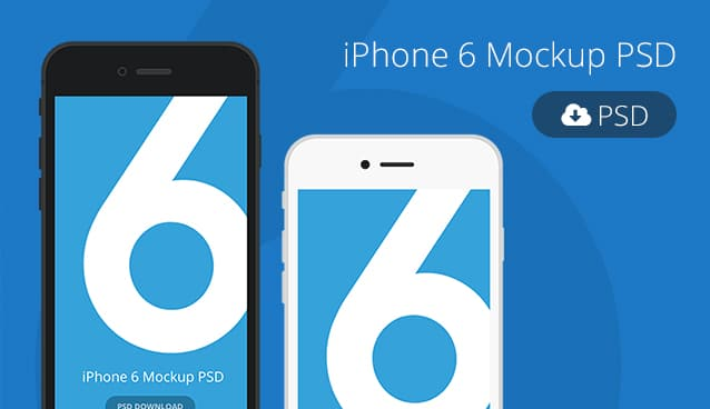 Iphone 6 Mockup Template Psd 187 Css Author