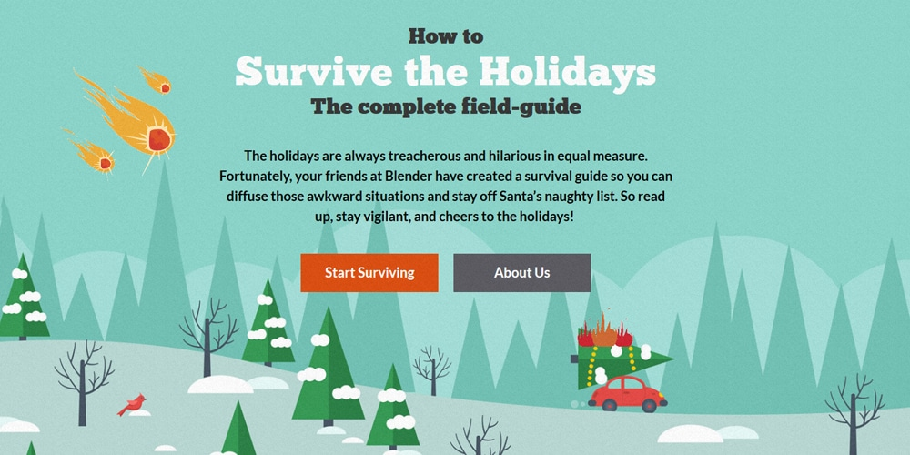survive the holiday