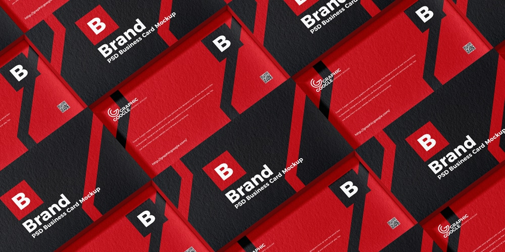 Brand Business Card Mockup