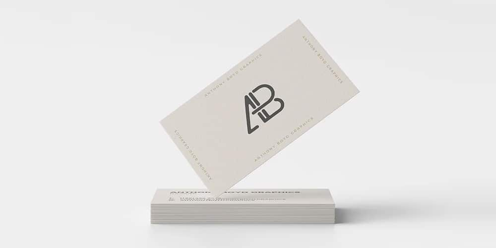 Branding Design Business Card Mockup