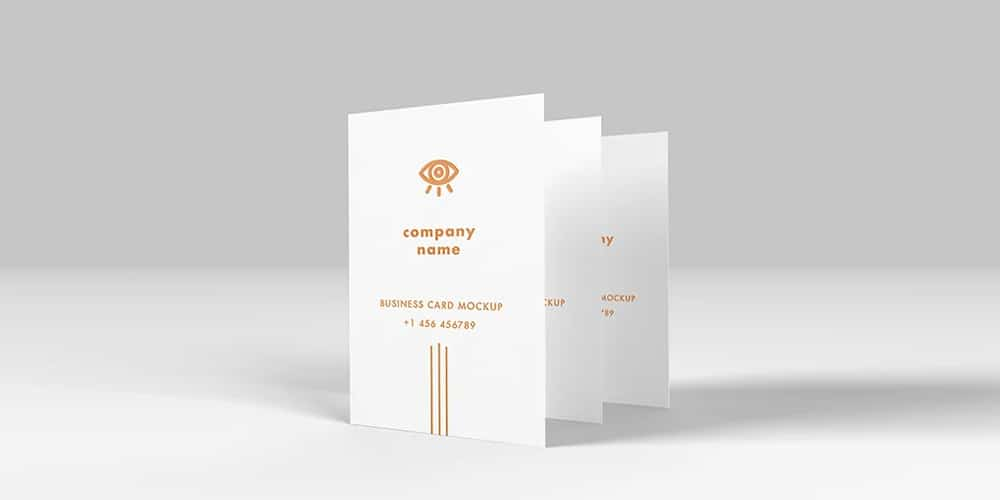 Business Card Blank Mockup