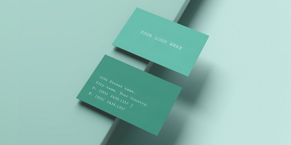 Business Card Mockup Kit PSD