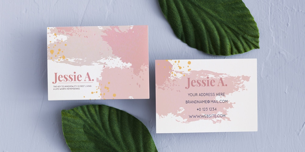 Business Card Mockup Set Template