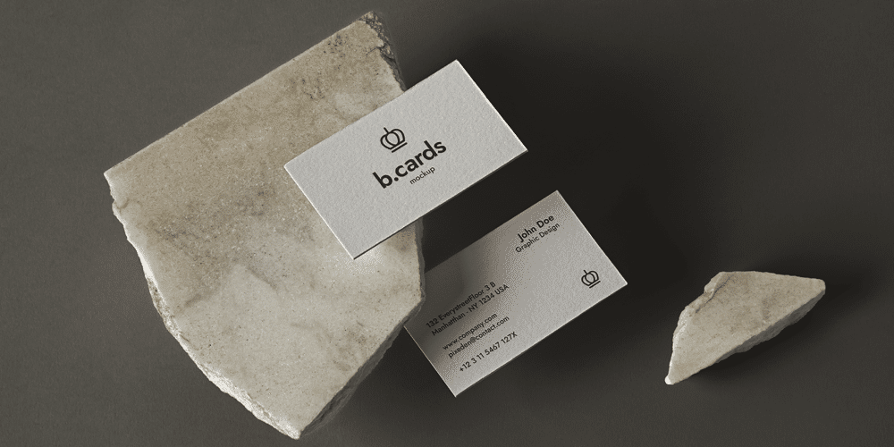 Business Card Mockup Showcase