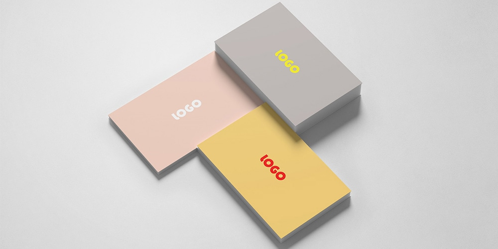 Business Card Presentation Mockup PSD