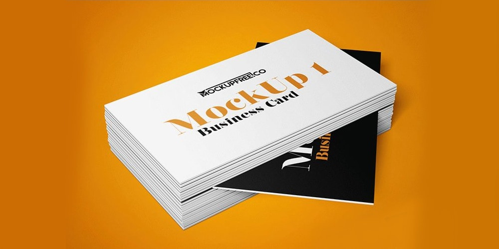 Business Card v2 Mockup PSD