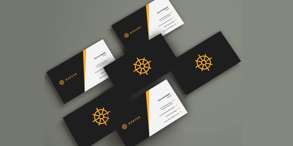 Business Cards Mockup PSD
