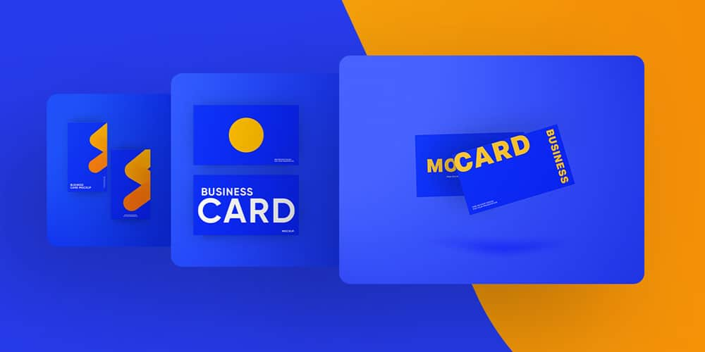 Business card Mockup Bundle