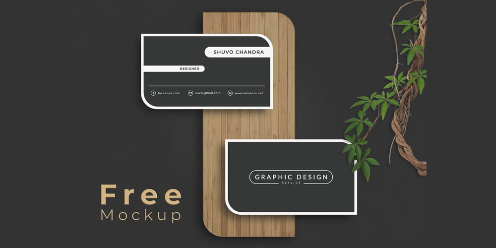 Clean and Easy Business Card Mockup