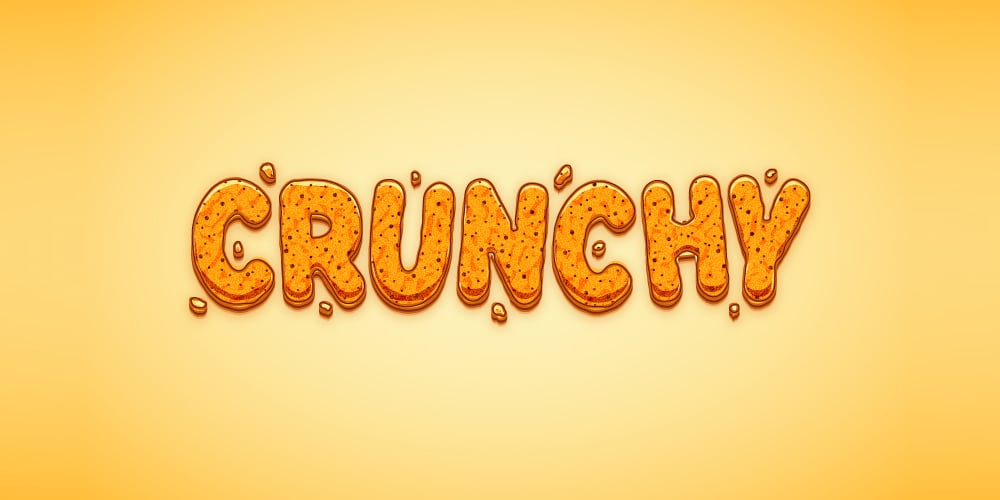Create a Crunchy Cartoon Text Effect