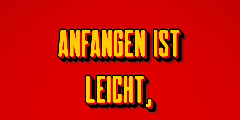 Create a German Flag-Inspired Text Effect