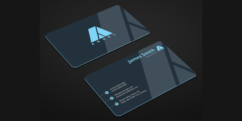 Creative Business Card Mockup Design PSD