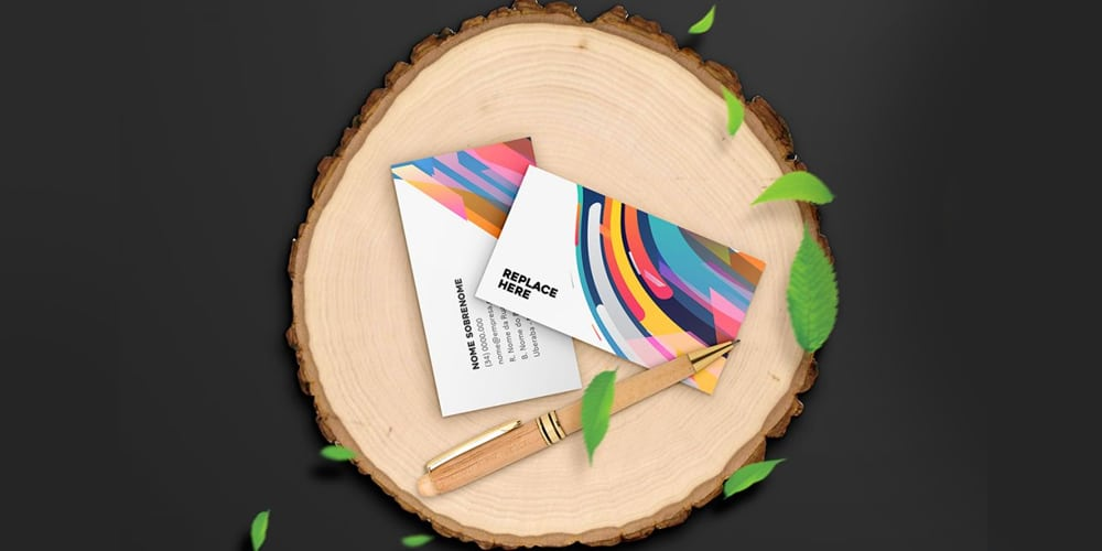 Creative Business Card Mockup Template