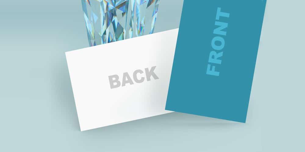 Dentist or Dental Clinic Business Card Mockup