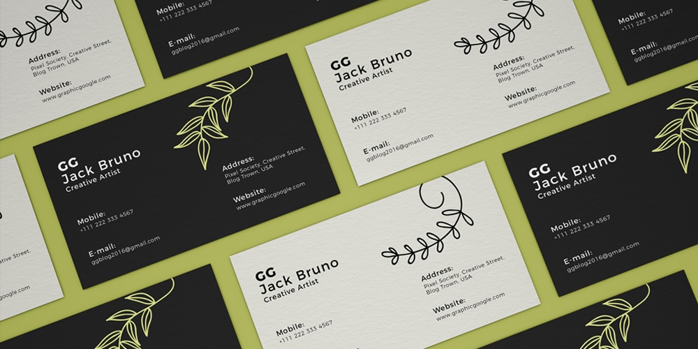 Free Branding Business Card