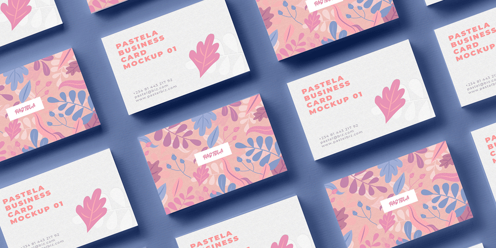Free Business Card Mockup Collection