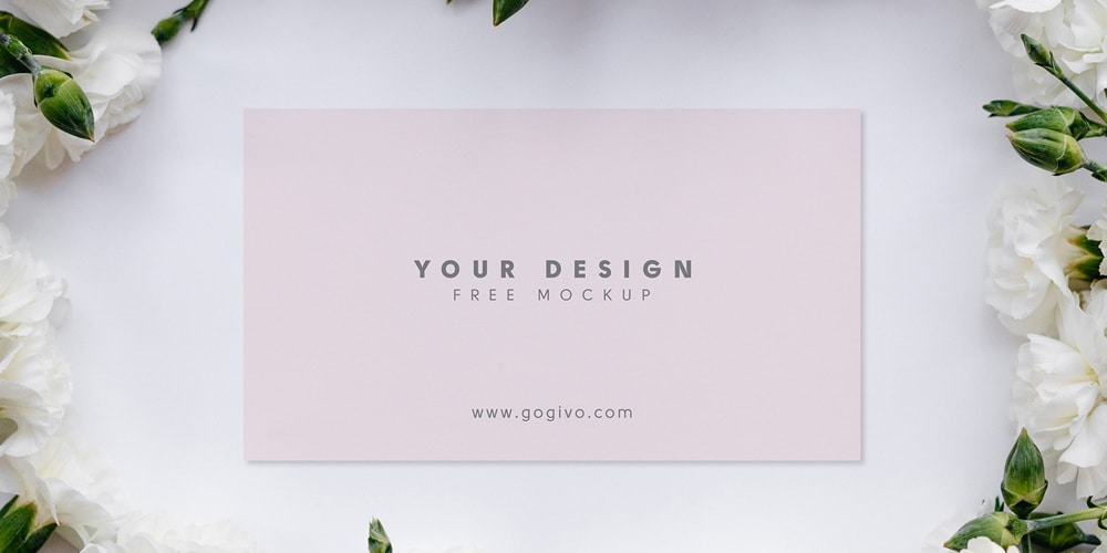 Free Elite Business Card Mockup