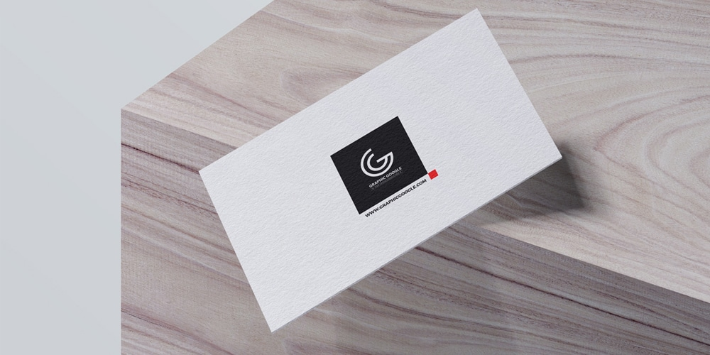 Free Falling Business Card