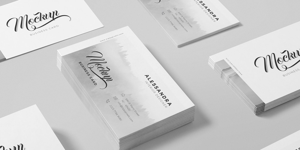 100 free business card mockup psd css author free isometric business card mock up psd colourmoves Images