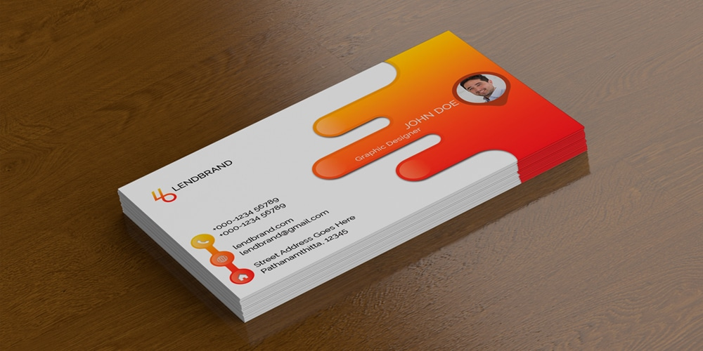 100 free business card mockup psd css author free single business card mockup psd reheart Gallery
